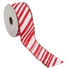 RIBBON szalag Candy Cane 3mx3.8cm