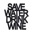 "WORD ART felirat ""Save Water"""