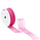 RIBBON szalag Happy Birthday pink