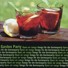 GARDEN PARTY zenei CD