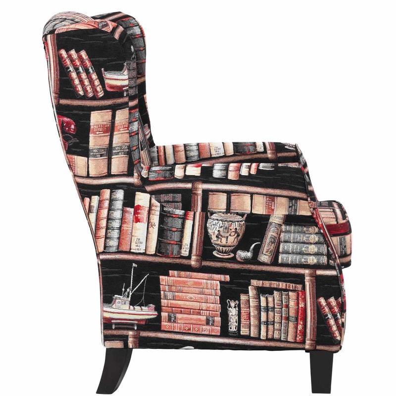 CHANDLER füles fotel könyvtár - Fotelek - Butlers.hu