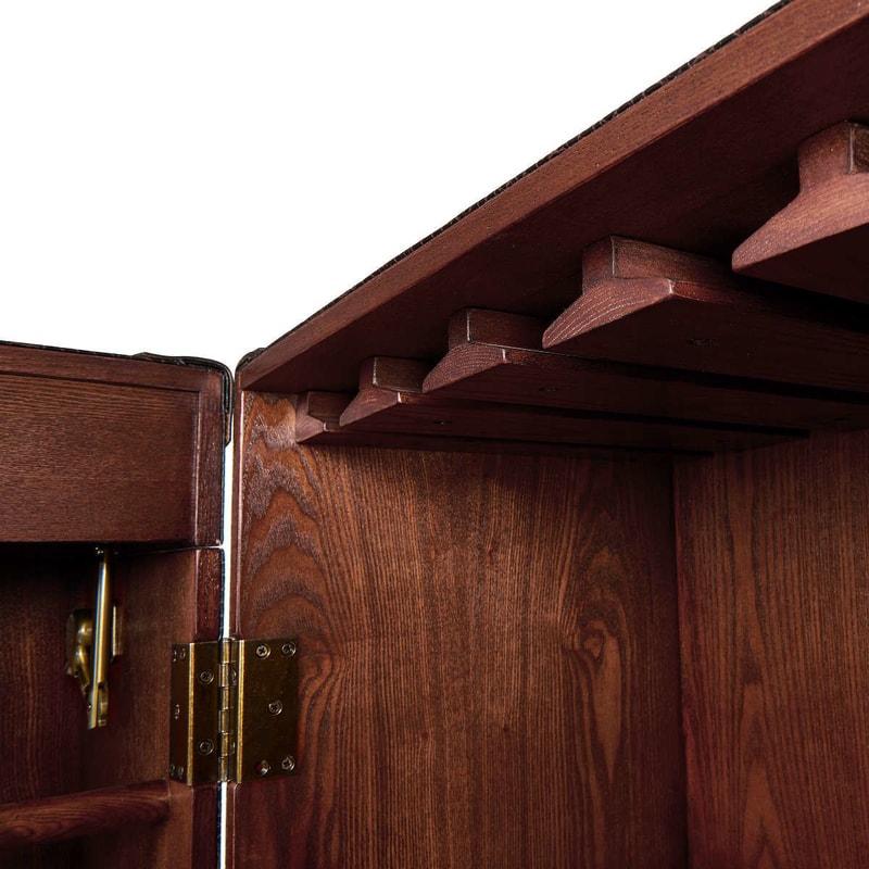 hemingway b rszekr ny koffer kicsi 59x59x122 szekr nyek s polcok. Black Bedroom Furniture Sets. Home Design Ideas